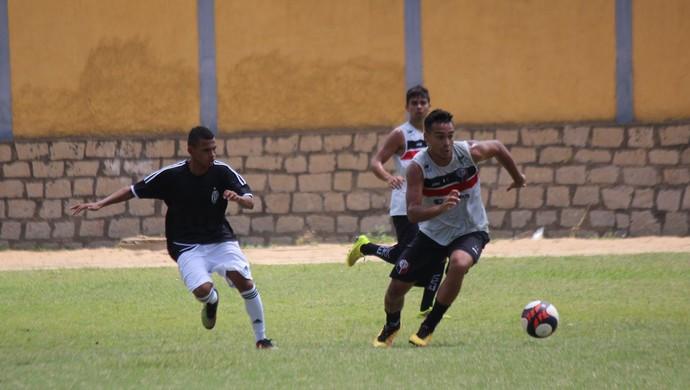 Santa Cruz de Natal x ADU jogo-treino Josias (Foto: Diego Simonetti/Santa Cruz)