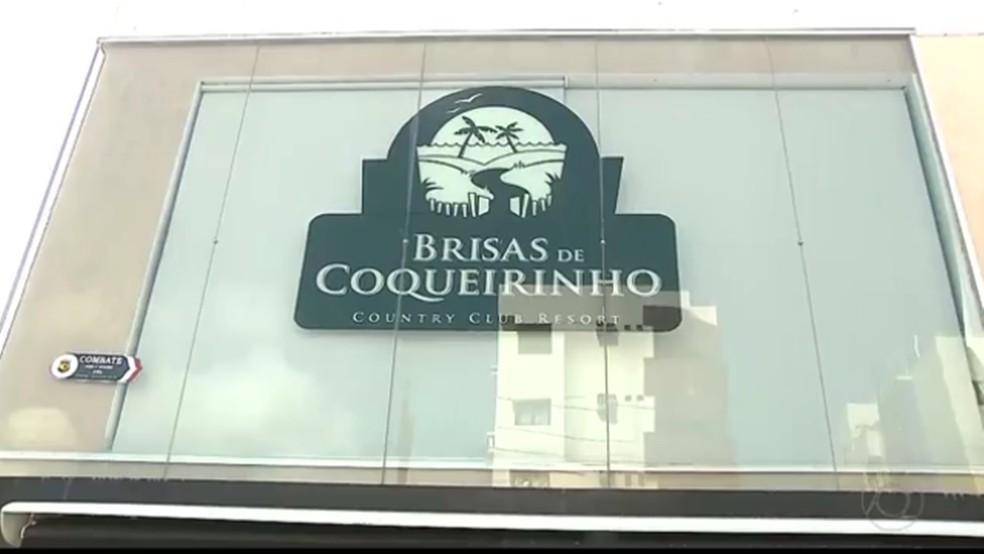Brisas de Coqueirinho teve a venda de lotes iniciada em 2011 e pelo menos 500 pessoas foram prejudicadas — Foto: Reprodução/TV Cabo Branco