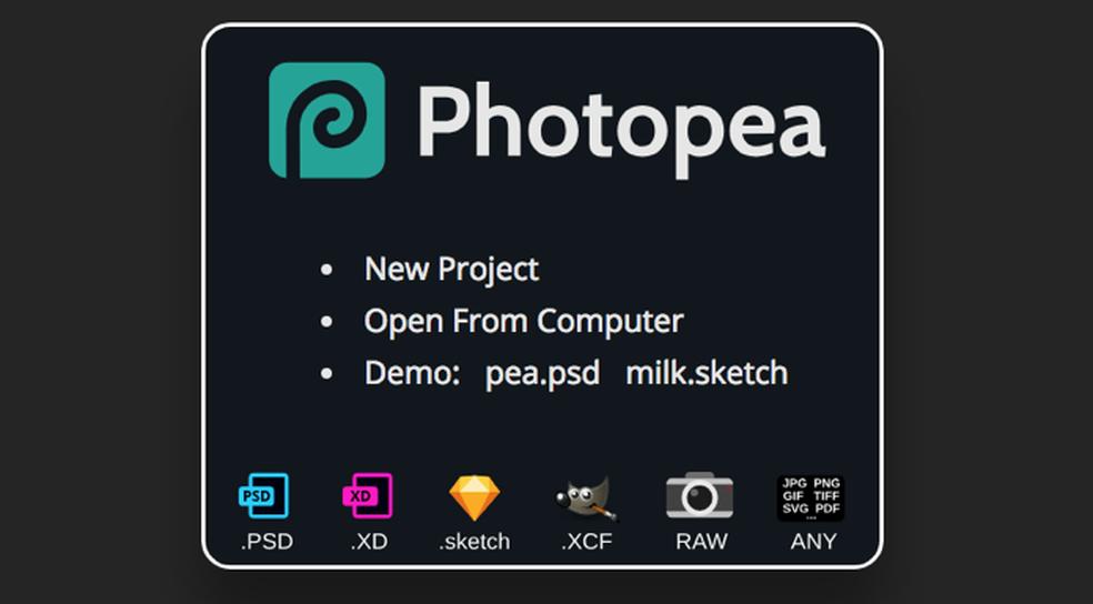 28725964cf ... Tutorial mostra como usar as principais ferramentas do serviço online  Photopea — Foto: Reprodução/