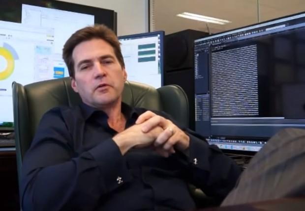 O australiano Craig Wright assumiu que é o criador do bitcoin (Foto: Reprodução/YouTube)