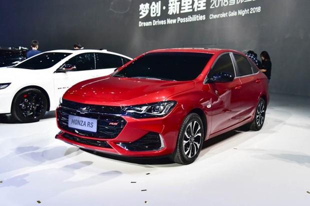 Monza RS é exclusivo para o mercado chinês e tem motor 1.3 turbo (Foto: AutoHome/Reprodução)