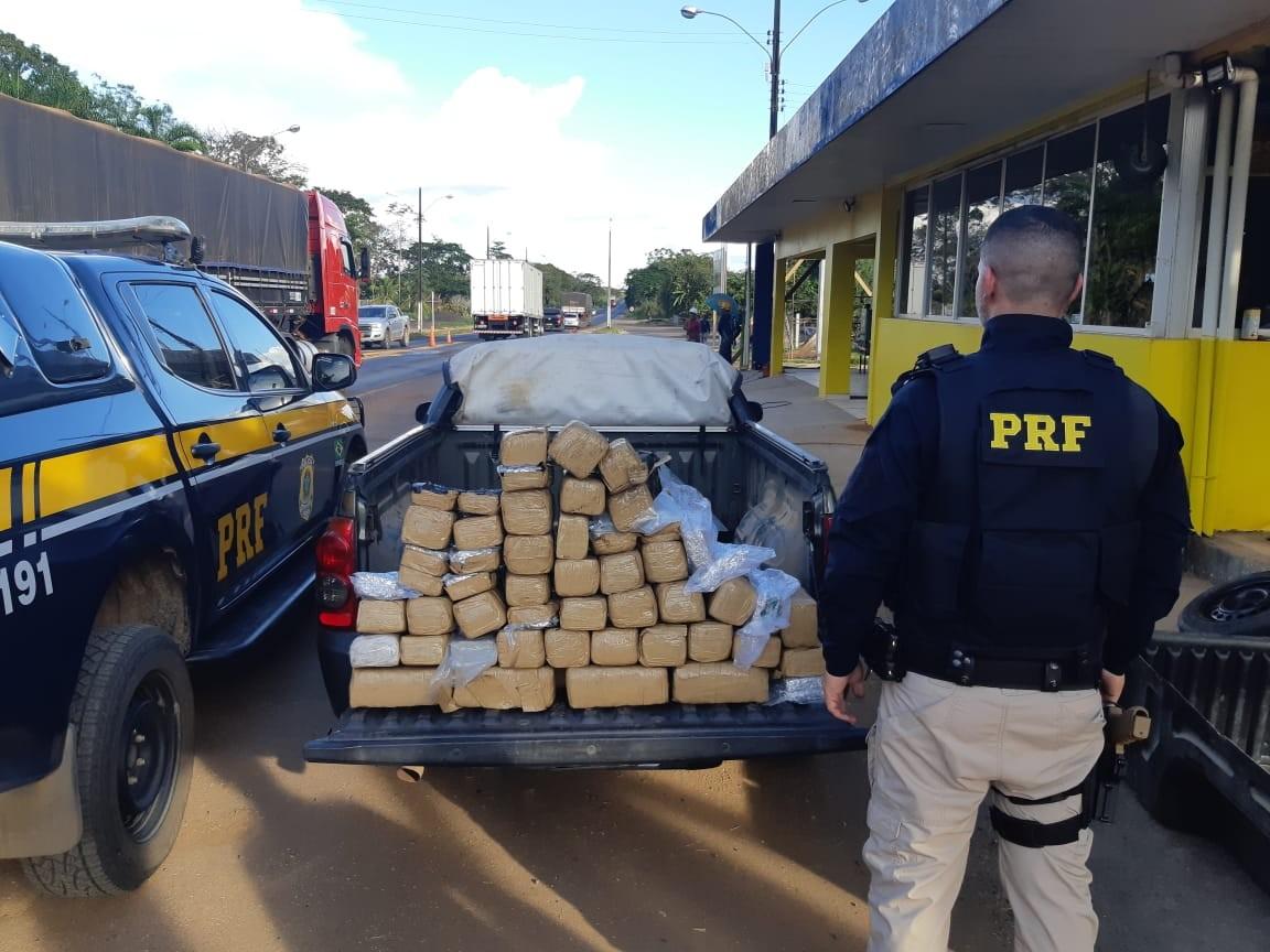 Homem é preso transportando mais de 48 kg de 'supermaconha' na BR-364, em RO - Notícias - Plantão Diário
