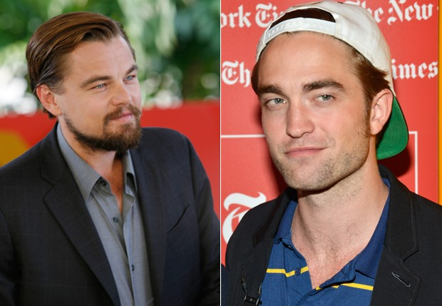 Leonardo DiCaprio e Robert Pattinson (Foto: Getty Images)