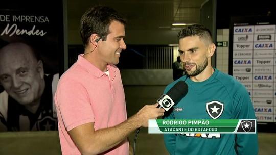 """Pimpão, sobre duelo contra o Grêmio:  """"O importante vai ser na Libertadores"""""""