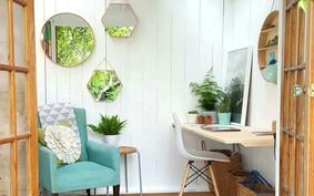 Home office com natureza: 15 projetos para inspirar