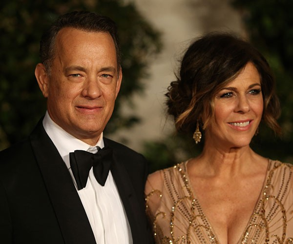 Tom Hanks e Rita Wilson (Foto: Getty Images)