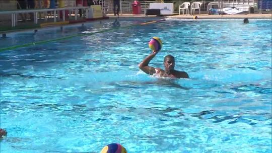 Não é apelido! Logan Wolverine disputa campeonato pela seleção brasileira de polo aquático