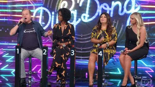 Fabiana Karla e Ellen Rocche celebram avanço para semifinal no 'Super Ding Dong'