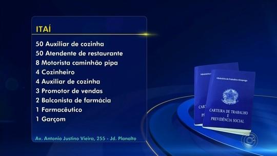 PATs anunciam novas oportunidades de emprego na região de Itapetininga