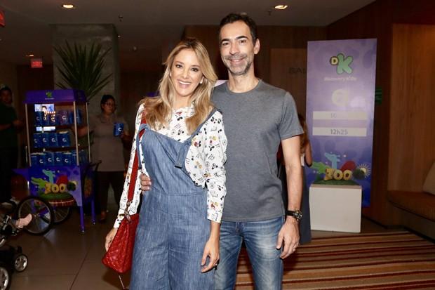 Ticiane Pinheiro e César Tralli (Foto: Manuela Scarpa / Brazil News)
