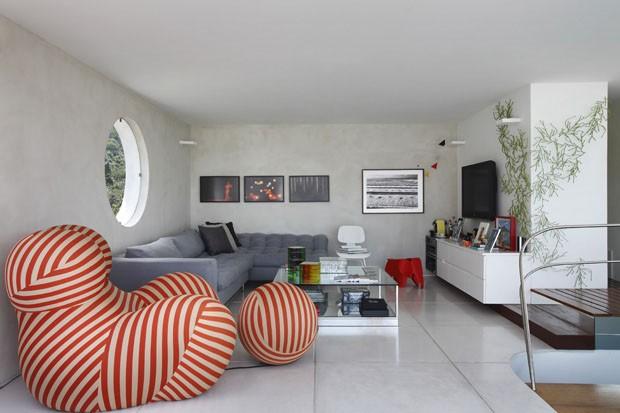 Sala de TV - CV (Foto: MCA Estúdio)