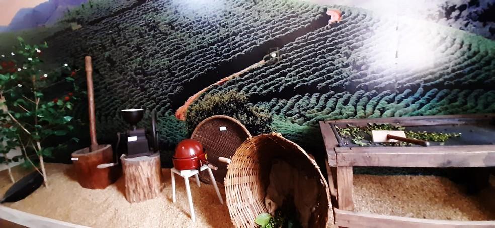 Museu Fazenda Bom Jardim, RJ, mostra o marco da economia da cidade com a produção de café — Foto: Divulgação