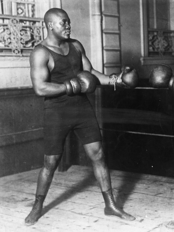 O boxeador Jack Johnson (Foto: Getty Images)
