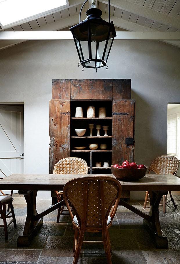 Décor do dia: sala de jantar rústica (Foto: Divulgação)