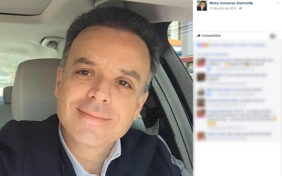 Juiz Mirko Vincenzo Giannotte (Foto: Facebook/Reprodução)