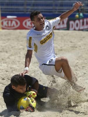 Goleiro Dona conseguiu frear o ataque do Botafogo no Mundialito de Clubes (Foto: Divulgação)