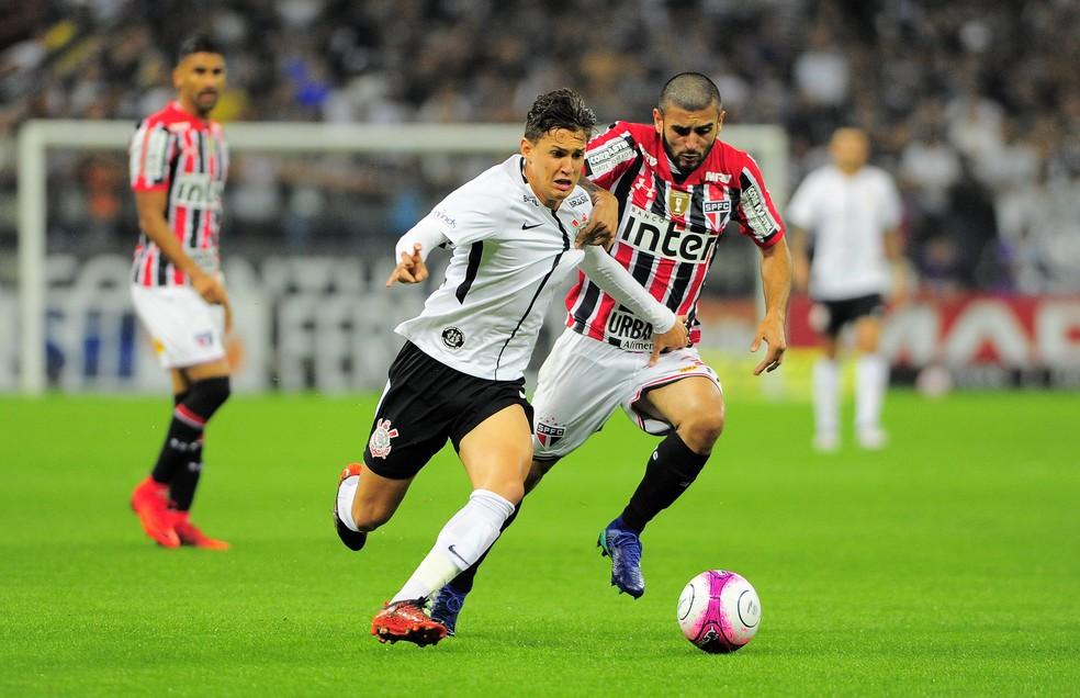 Liziero esteve em todos os jogos sob o comando de Aguirre, seja começando como titular ou entrando no segundo tempo (Foto: Marcos Ribolli)