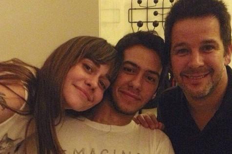Antonio tem 22 anos. Alessandra e Murilo começaram a namorar em 1996 nos bastidores da novela 'Meu bem querer' e ficaram juntos até 1999 (Foto: Reprodução Instagram)