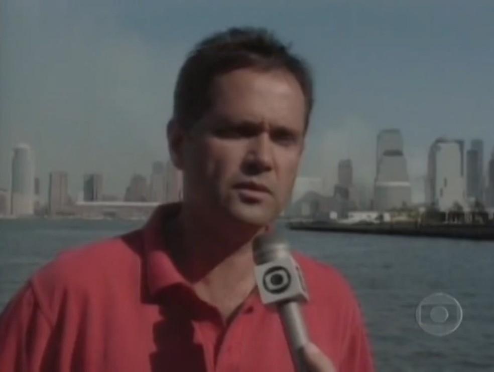 Larry Pinto de Faria Jr. em entrevista ao Globo Repórter de 14 de setembro de 2001 — Foto: Reprodução/Memória Globo