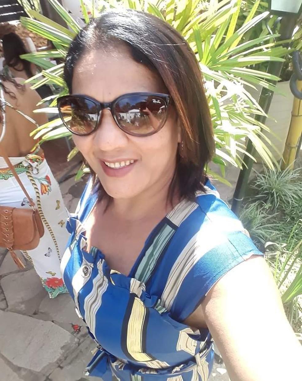 Marilene Marins de Melo Neves foi morta dentro da igreja — Foto: Redes Sociais
