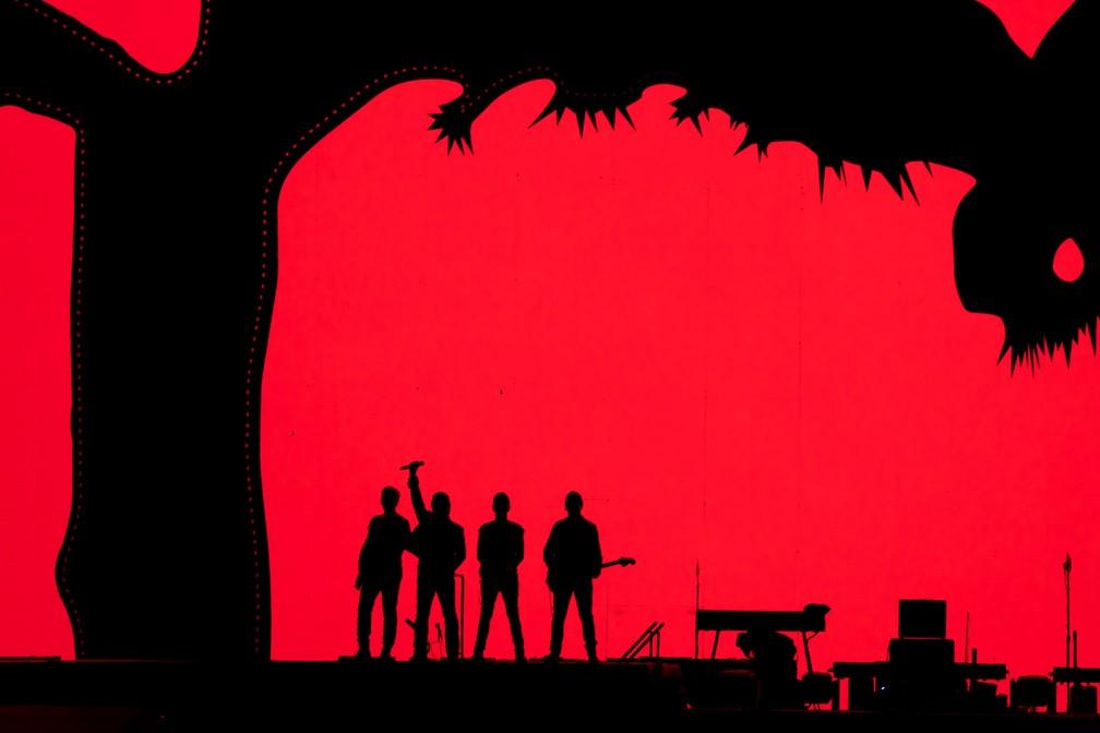 U2 em SP: 1º show (Foto: Marcelo Brandt / G1)