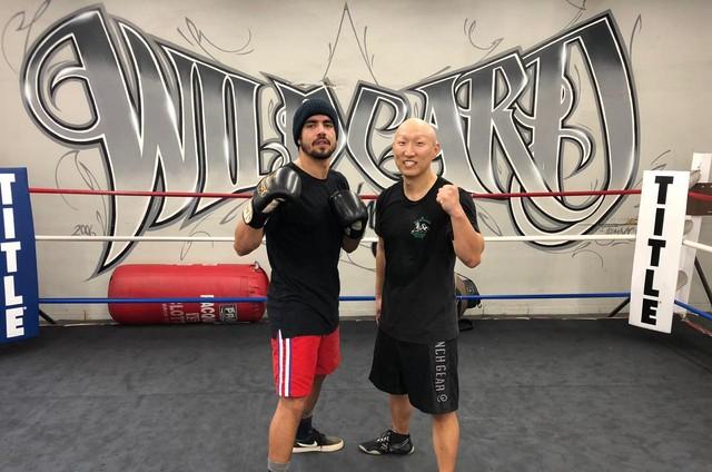 Caio Castro e Arnold Chon (Foto: Arquivo pessoal)