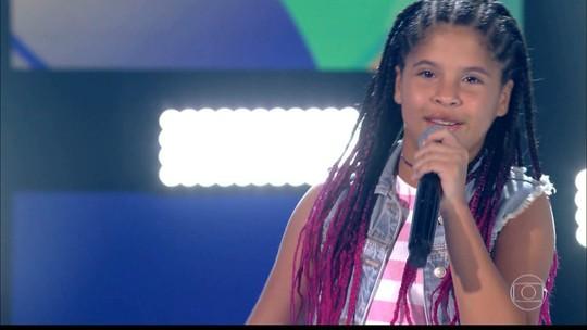 JPB2JP: Paraibana Lívia Valéria fala sobre apresentação no The Voice Kids