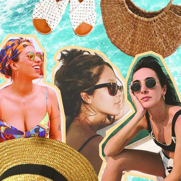 Bolsa de praia Instagramável (Foto: Instagram/Reprodução)