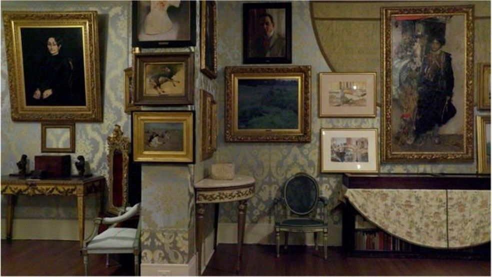 Mais de 30 anos depois, o roubo do Museu Isabella Stewart Gardner, em Boston, continua sem solução — Foto: Netflix via BBC