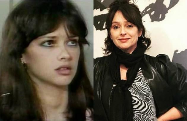 Myrian Rios, do elenco de 'As aventuras de Poliana', era Gabriela, jovem ambiciosa que tinha uma relação complicada com a mãe, Marta (Foto: TV Globo - Reprodução/Instagram)