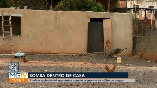 Bope neutraliza explosivo encontrado em casa de suspeitos de tráfico em Juiz de Fora