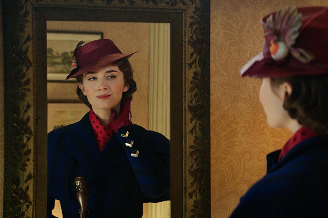 Emily Blunt encarna Mary Poppins em novo filme sobre a personagem (Foto: Divulgação)