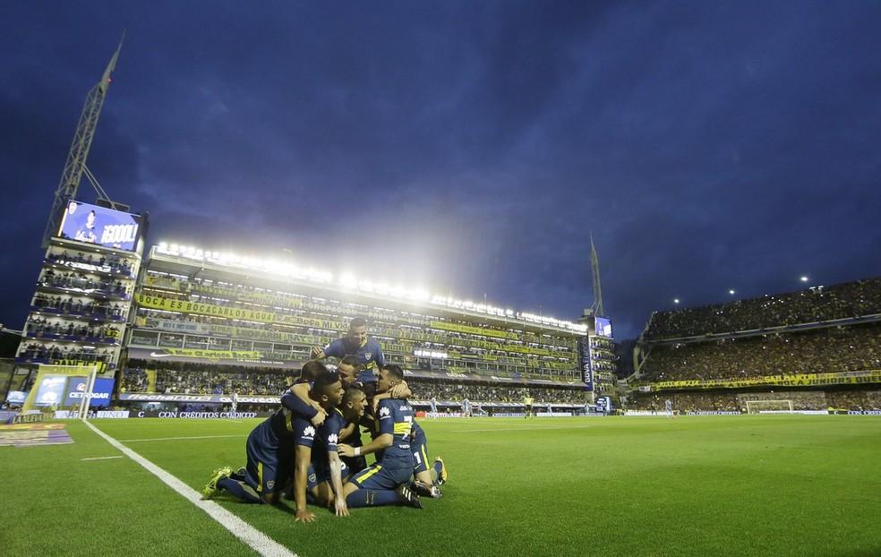 Fora em 2017, Boca Juniors volta à Libertadores (Foto: Reprodução Twitter)