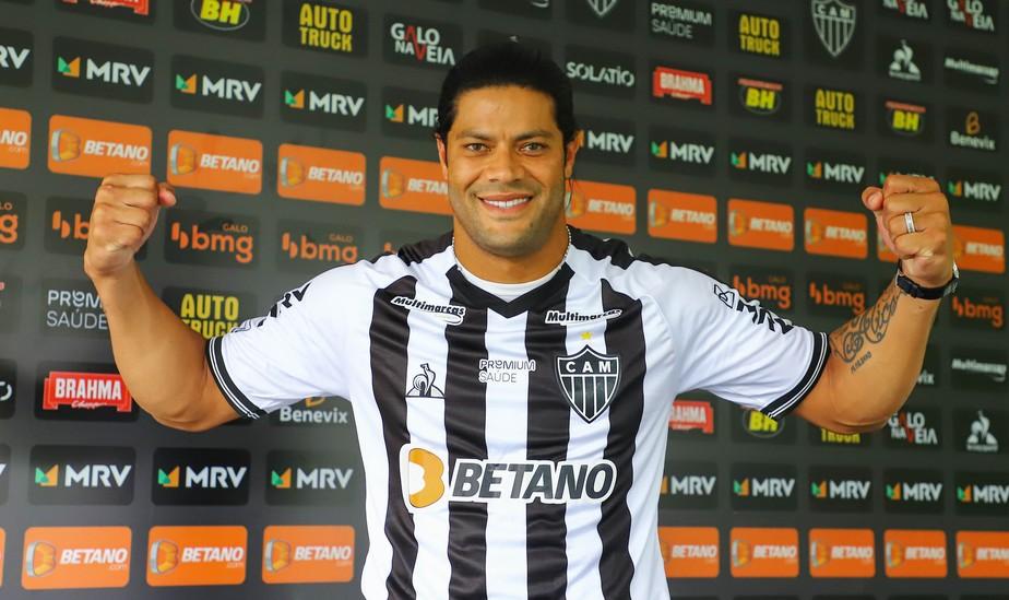 Conquistas, ídolos históricos, Sampaoli: Hulk é apresentado no Atlético-MG  e exalta projeto | atlético-mg | ge