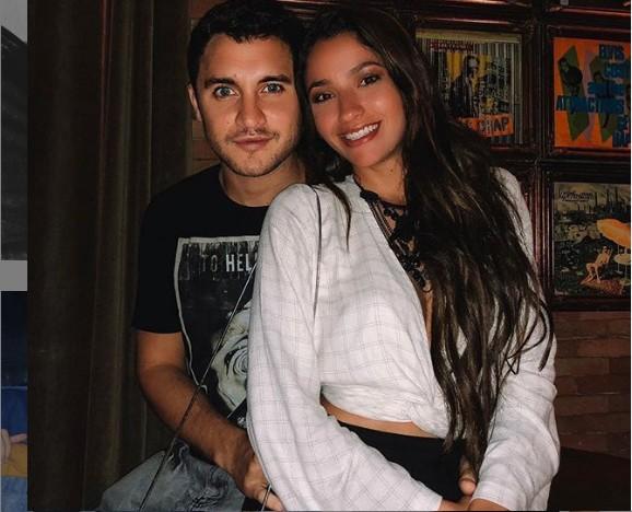 Carolina Oliveira e o namorado, Juan Ciancio (Foto: Reprodução/ Instagram)