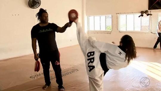 Após título internacional, lutadora mira evolução no taekwondo