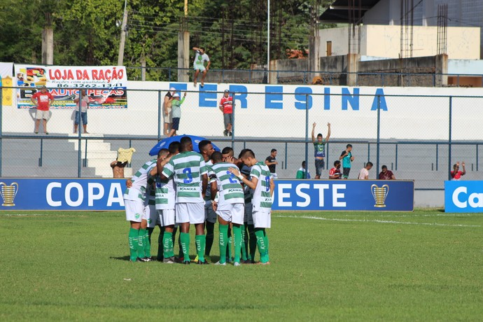 Altos x Fortaleza, Copa do Nordeste  (Foto: Renan Morais )