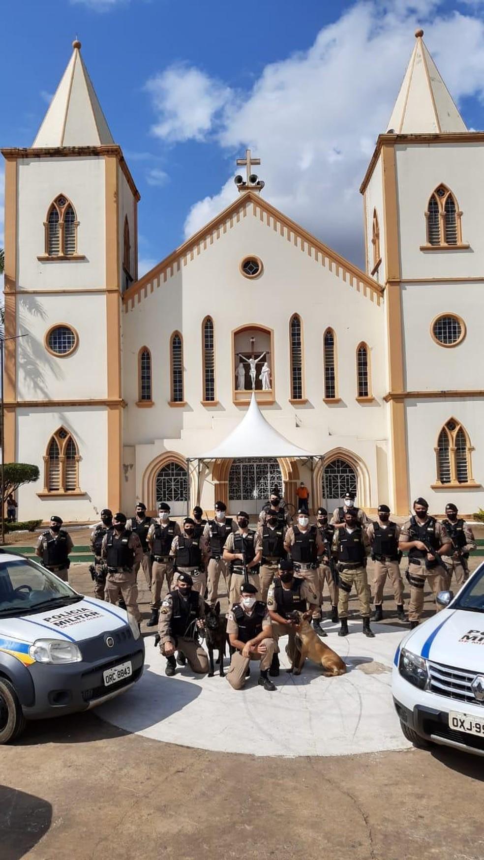 Operação terminou na segunda (24) — Foto: Polícia Militar / Divulgação