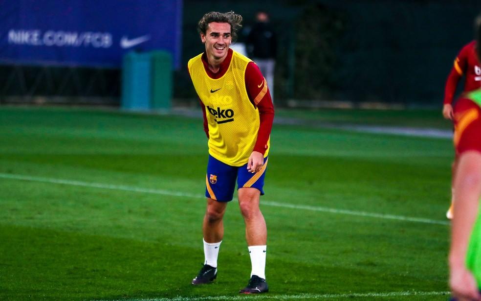 Sem Suárez, a Lei do Ex no Atlético de Madrid x Barcelona ficará com Griezmann? — Foto: Reprodução / Facebook