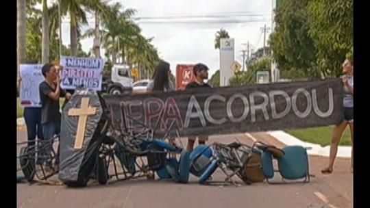 Estudantes da Uepa ocupam campus de Paragominas em protesto contra a falta estrutura da unidade