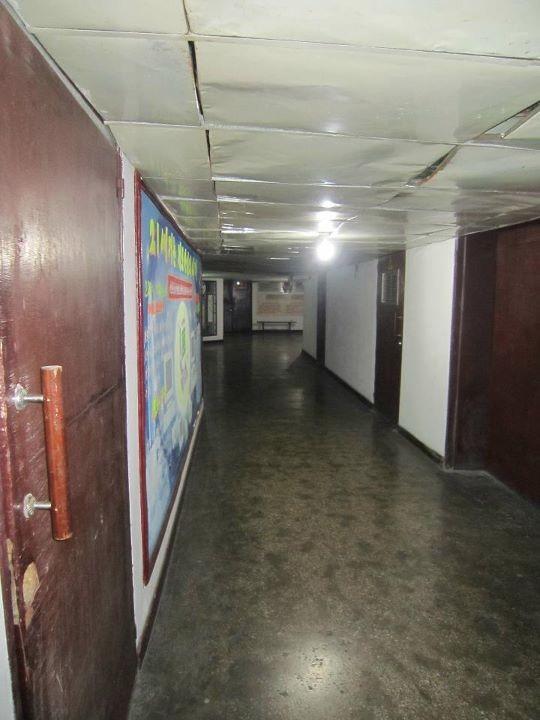 Quinto andar do hotel Yanggakdo, proibido para turistas (Foto: Calvin Sun / Reprodução)