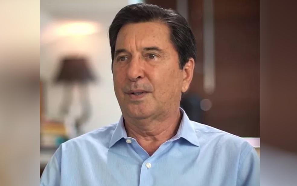 Candidato Maguito Vilela testa positivo para Covid-19 — Foto: Reprodução/TV Anhanguera