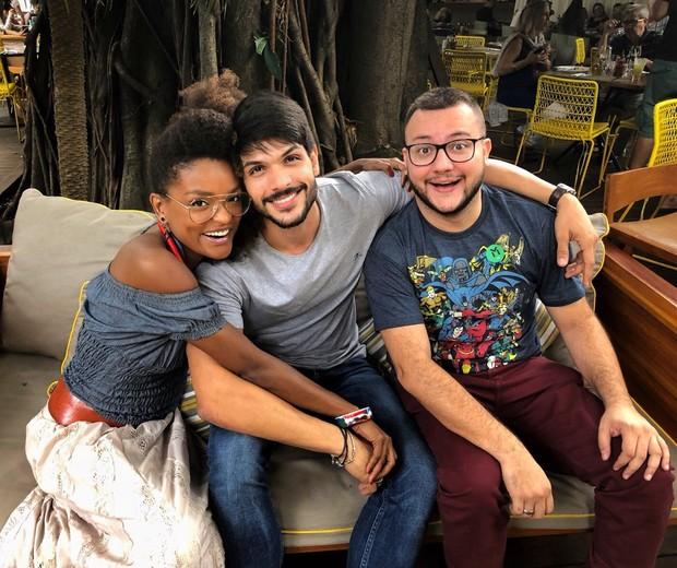 Nayara, Diego e Lucas (Foto: Arquivo pessoal)