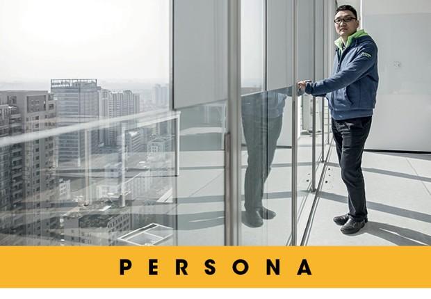 Colin Huang amealhou  US$ 14 bilhões em menos de três anos, depois de fundar a plataforma de e-commerce  Pinduoduo (Foto:  Qilai Shen/Bloomberg via Getty Images)