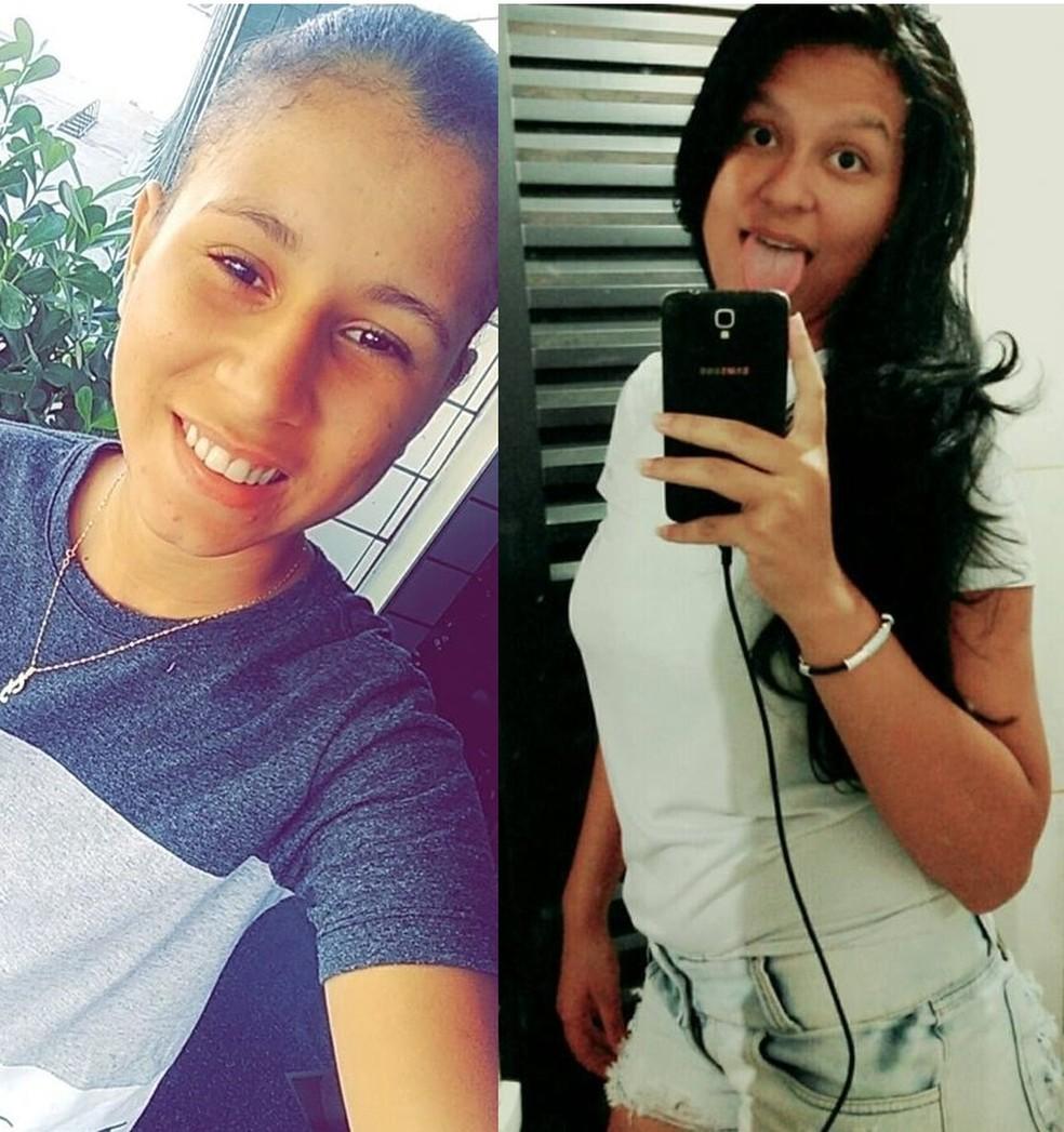 Fabíola Pinheiro Bracela e Luana Marques Fernandes são suspeitas de matar menino de 3 anos em MT — Foto: Arquivo Pessoal
