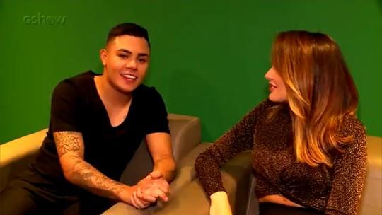 Felipe Araújo comenta sucesso da música 'Atrasadinha' e conta planos para 2019