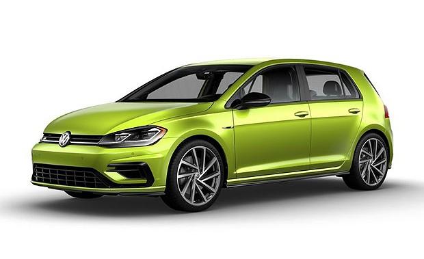Volkswagen Golf R 2019 (EUA) (Foto: divulgação)