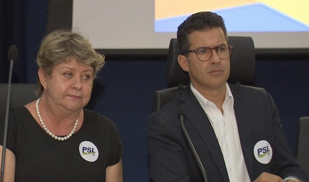 Hélio Góis, candidato a a governador do Ceará (Foto: TV Verdes Mares/Reprodução)