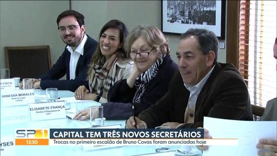 Capital tem três novos secretários