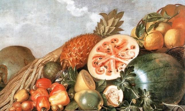 As frutas sensualizadamente tropicais de Albert Eckhout estão na capa do livro 'Prazeres e pecados do sexo na história do Brasil'